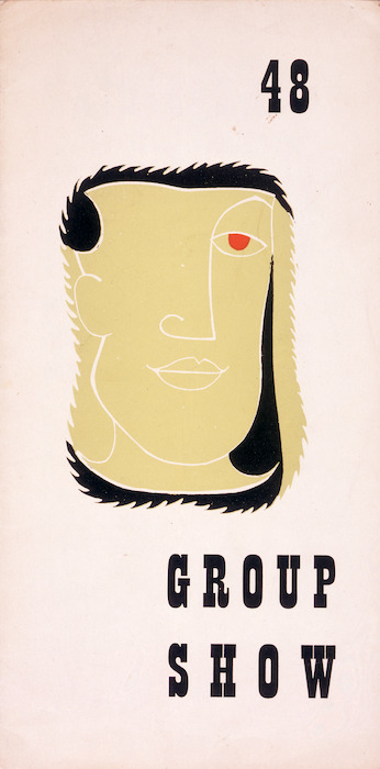Image: The Group (Christchurch) :Group show 48. [1948. Catalogue cover].