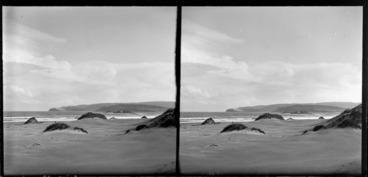 Image: Coastal area featuring dunes and beach, Catlins area, Clutha District, Otago Region