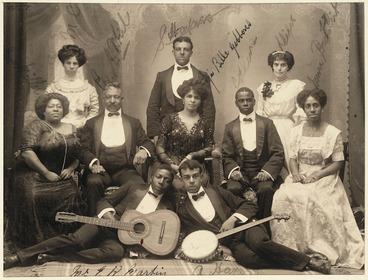 Image: Group portrait of the Fisk Jubilee Singers