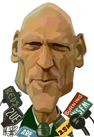 Image: Webb, Murray, 1947- :Peter Garrett [ca 14 June 2004].