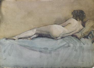 Image: Nude study.