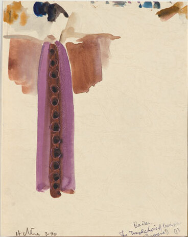 Image: The temptations of Œdipus by Baxter [costume design. Ismene 1].