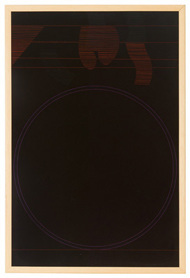 Image: Black painting.