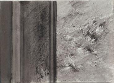 Image: Drawing for Ian Wedde