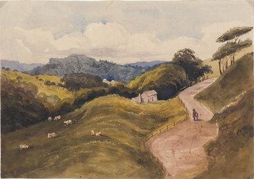Image: On the Porirua Road, near Crofton.