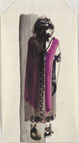 Image: The temptations of Œdipus by Baxter [costume design. Œdipus].