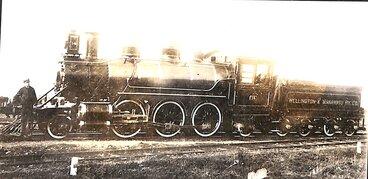 Image: New Zealand Railways locomotive, Na 2-6-2 class; number 459 (Manawatu No 14)