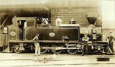 Image: New Zealand Railways locomotive, Wa 2-6-2 T class; number 288