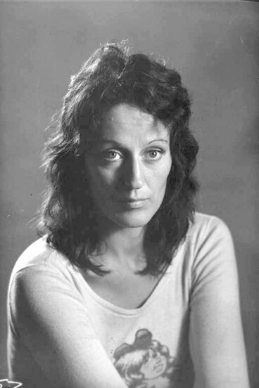 Image: 1/4 portrait of Germaine Greer
