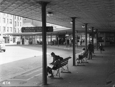 Image: Showing the Municipal Transport Station,...