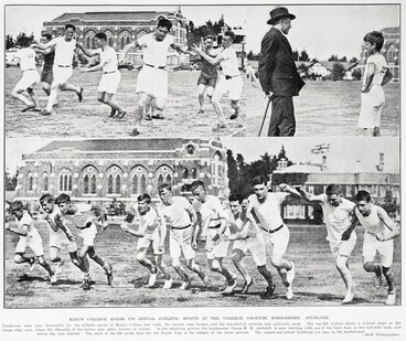 Image: KING'S COLLEGE HOLDS ITS ANNUAL ATHLETIC SPORTS AT THE COLLEGE GROUNDS, MIDDLEMORE. AUCKLAND.