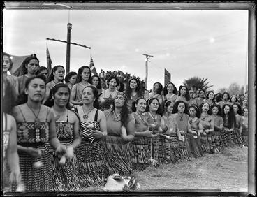 Image: Kapa haka performers