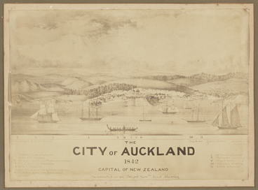 Image: The City of Auckland 1842