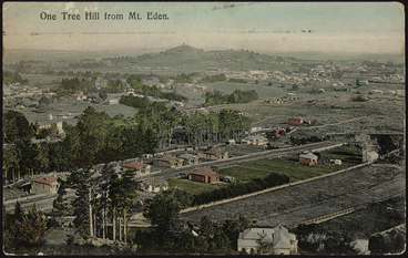 Image: One Tree Hill from Mount Eden
