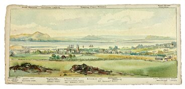 Image: Onehunga in the 1860s