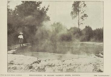 Image: WHANGARIRIRO, OR MADAME RACHEL'S SPRING, ROTORUA.