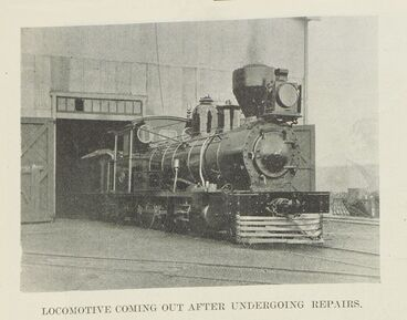 Image: The railway workshops in Newmarket.