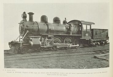Image: The new American Engines for the railways.