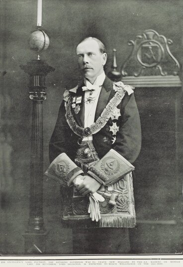 Image: His Excellency Lord Plunket