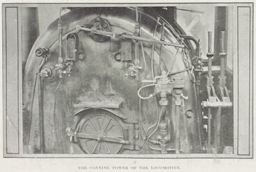 Image: The conning tower of the locomotive.