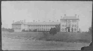 Image: Looking south at Avondale Mental Asylum (subsequently Oakley....