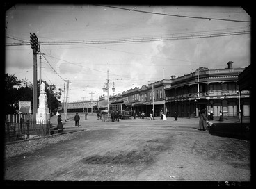 Image: Looking from St Mary's Bay Road towards Ponsonby Road showing....