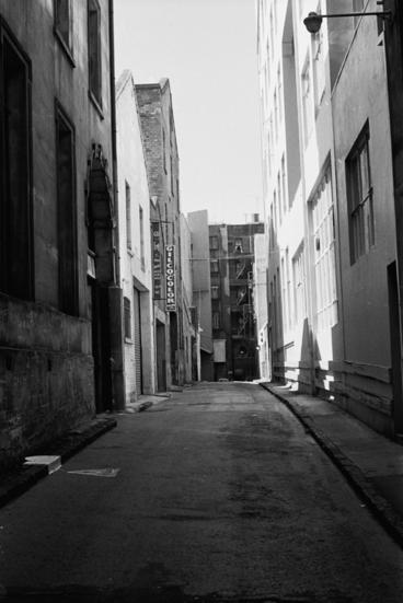Image: Mills Lane, c1973