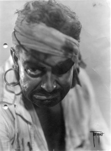 Image: A pirate in the Auckland Little Theatre Society production of 'Peter Pan'?, performed at His Majesty's Theatre, Auckland, December 1930.