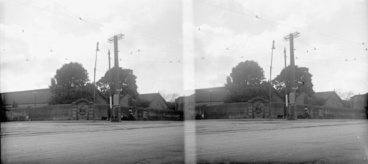 Image: Looking north from the corner of Great North Road and Ponsonby Road...1923