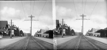 Image: Looking south east along Ponsonby Road...1923