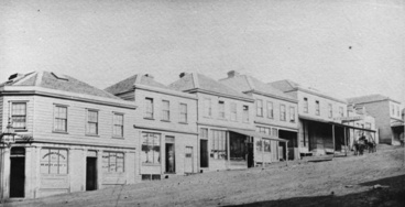 Image: Looking south showing Victoria Street West...1866