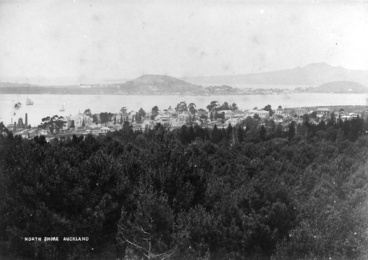 Image: Panoramic views looking north from Auckland Domain...
