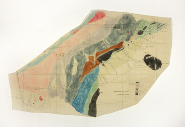Image: Geological sketch map of the Province of Canterbury New Zealand