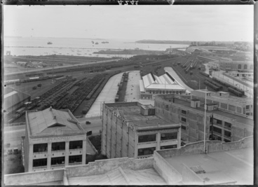 Image: Looking north east over Auckland from Emily Place...1931