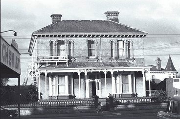 Image: Showing the house at 195 Ponsonby Road....