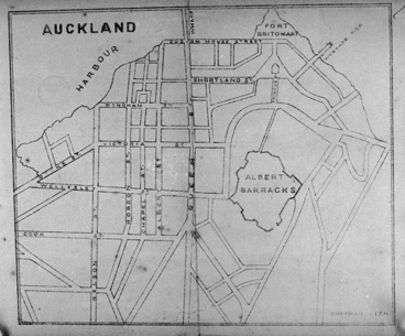 Image: Map of Central Auckland