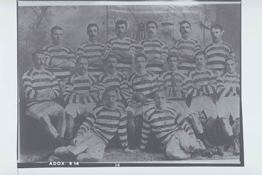 Image: Auckland Rugby Union Representative Team 1898