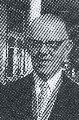 Image: J.K. (later Sir Jack) Hunn, author of the report, 'Proposed National Library', 1956. — D. Hunn