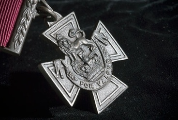 Image: Victoria Cross for New Zealand medal