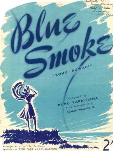Image: Blue smoke