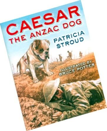 Image: Caesar, the Anzac dog