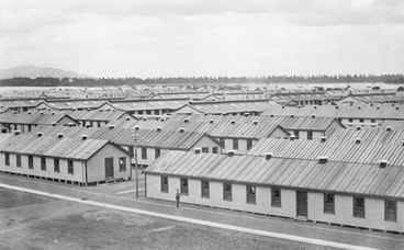 Image: Influenza at the Featherston barracks
