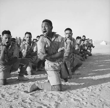 Image: Haka in WWII