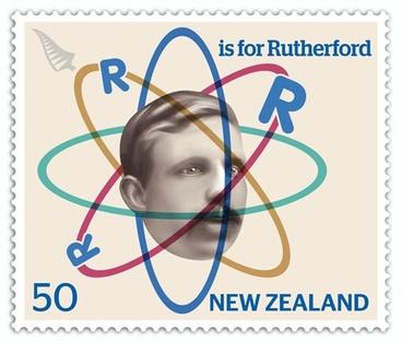 Image: Ernest Rutherford stamp