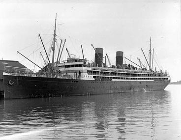 Image: RMS Niagara - the 1918 influenza pandemic
