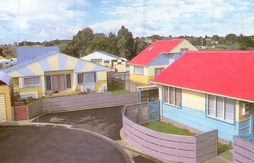 Image: Rata Vine Drive, state housing