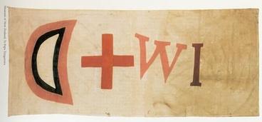 Image: Te Kooti's war flag