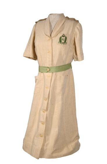 Image: New Zealand Forces Club Tui uniform