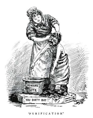 Image: Purification suffrage cartoon