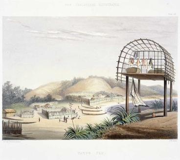 Image: Taupō pā, Plimmerton